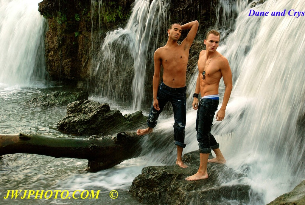 Pretty Boys in Waterfall 2