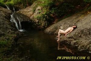 Reflection Boi At The Falls