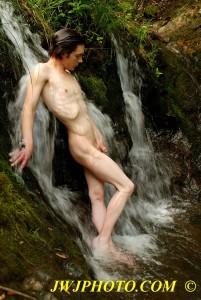Waterfall Art Hottie