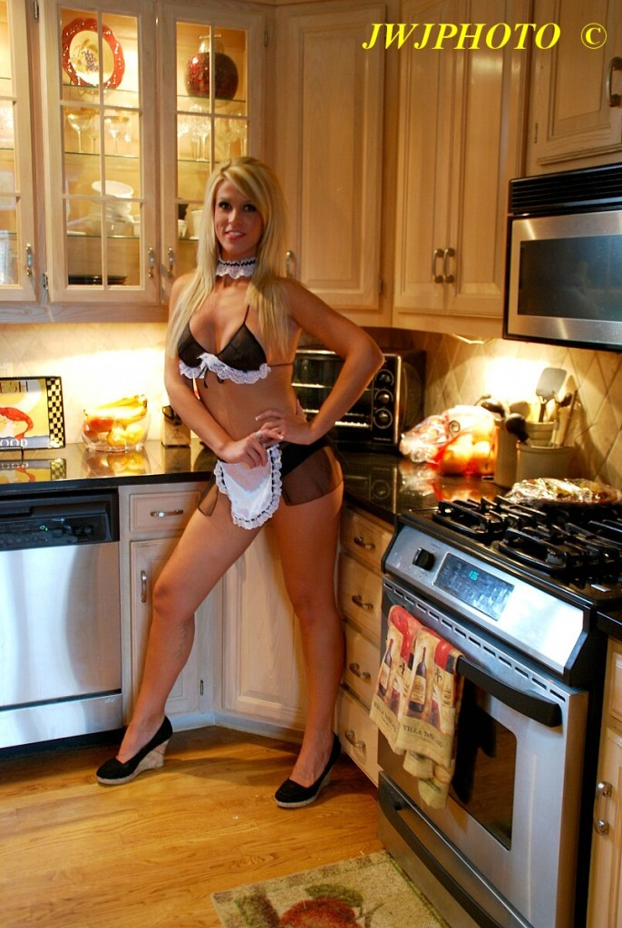 French Maid in Kitchen
