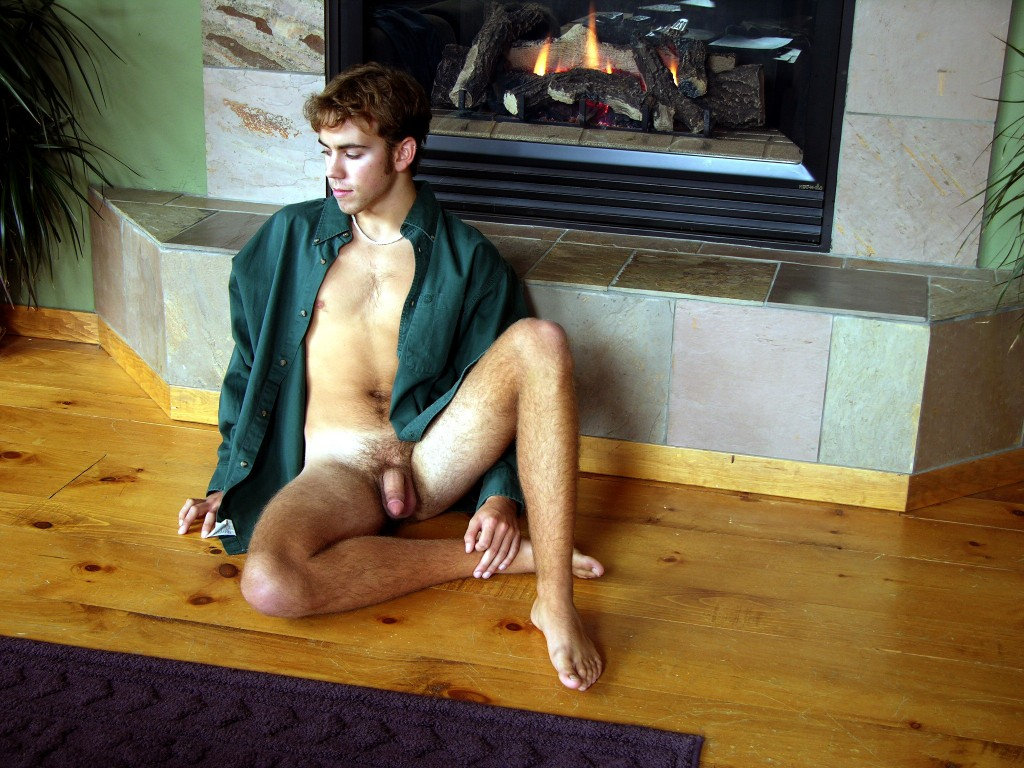 Fireplace boy