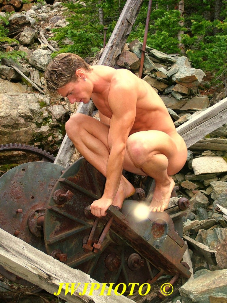kneeling on machinery 2