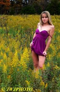 Purple Dress Vivacious