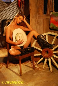 Cowgirl Art Babe