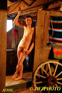 Cute Hung Barn Boy