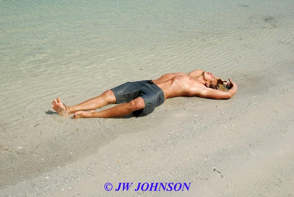 Beach Hunk Washed Ashore