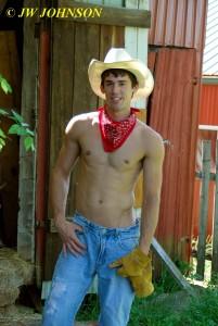 Backlit Cowboy 2