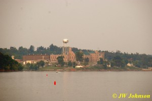 Castle of the Cumberland Across Lake Barkley