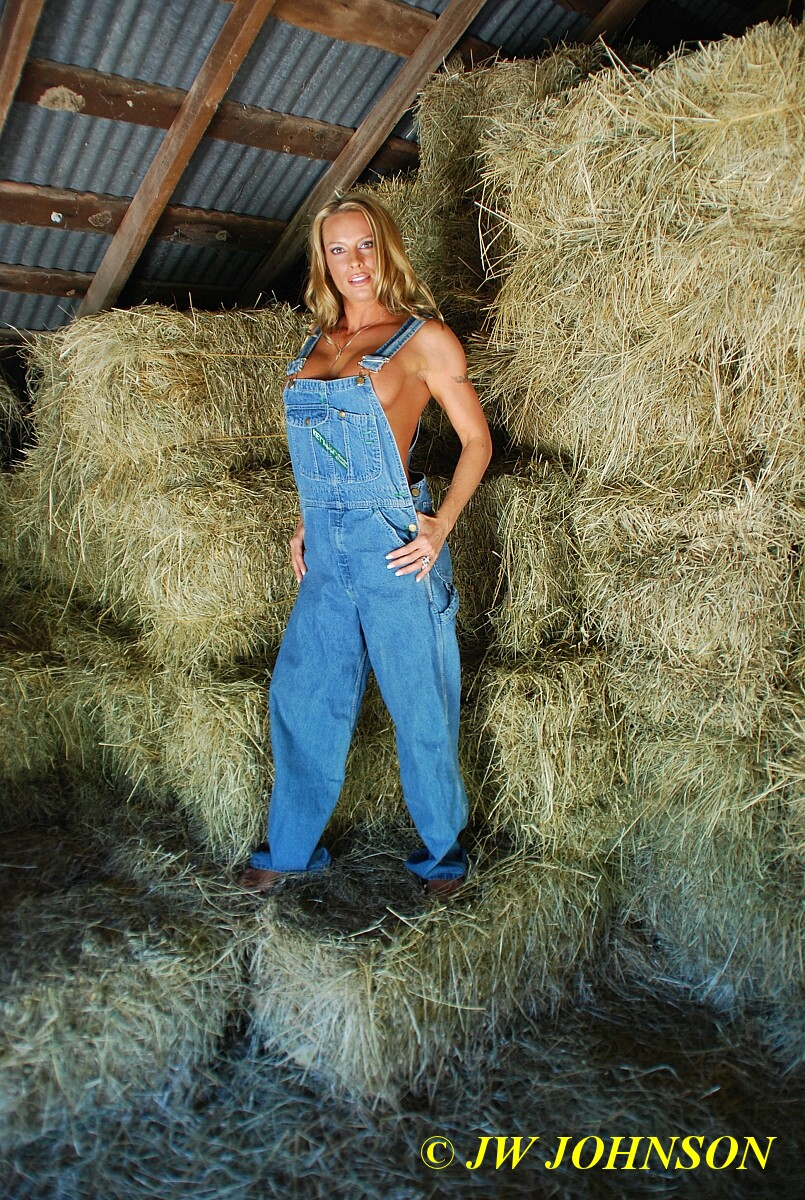 from Morgan nude girls in overalls
