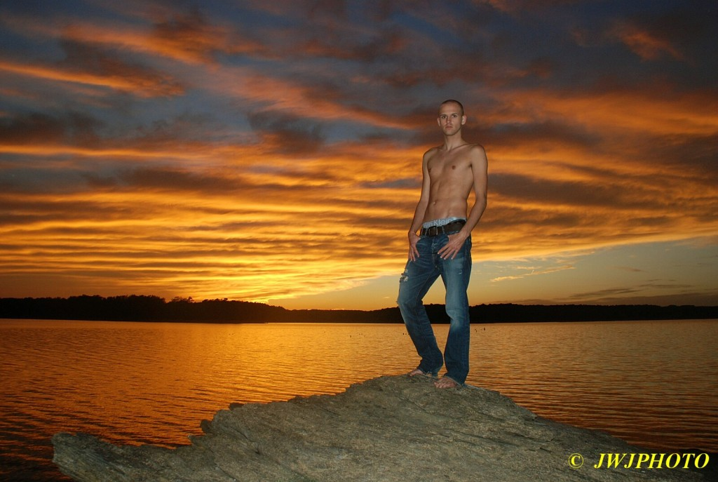 Hottie and The Gorgeous Sunset