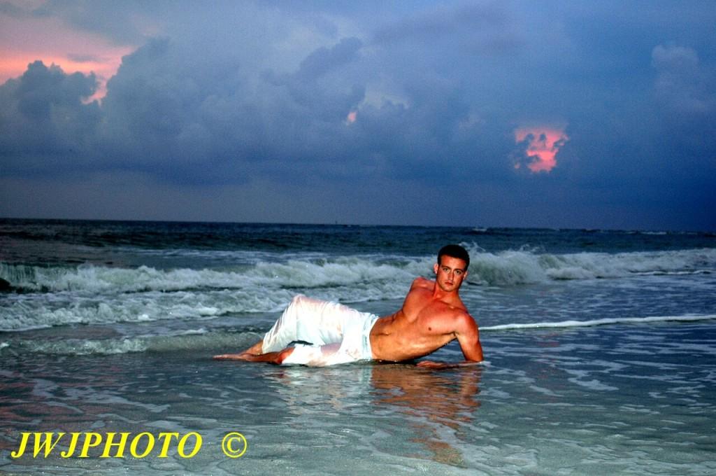 beach boi sunset