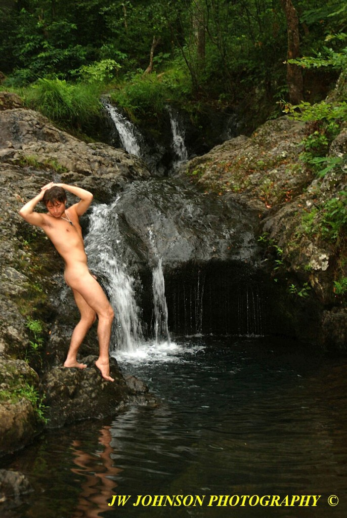 Art Nude Cool Hole Falls