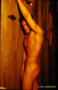 Barn Door Nude