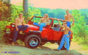 David Hanna, John Bost, Anth Seamon Jeep