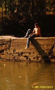 Fishin At The Old Mill Dam