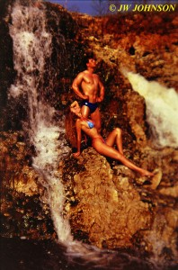 With Mel Whited at Waterfalls