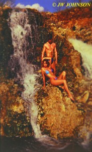 With Mel Whited at Waterfalls 2