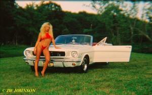 Convertible Mustang Babe 5