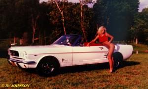 Convertible Mustang Babe 7