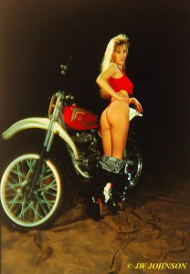 Dirt Bike Babe 2