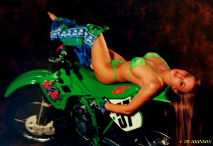 Dirt Bike Babe 3