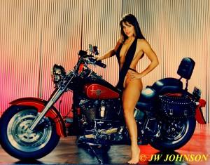 Harley Babe 2