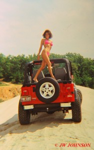 Red Jeep Hottie