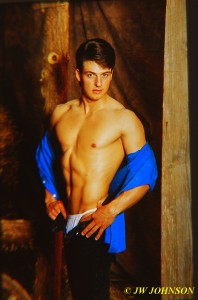 Blue Shirt Barn Hottie