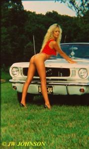 Convertible Mustang Babe 2
