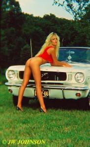 Convertible Mustang Babe 3
