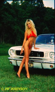 Convertible Mustang Babe 4