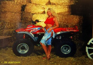 Four Wheeler in Barn 12