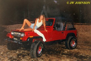Jeep on Sandbar 2