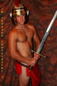 Roman soldier sexy tunic