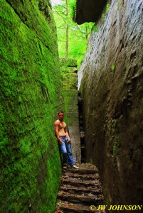 Mossy Rock Wall Passage 2