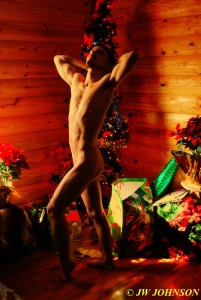 88 Christmas Art Nude
