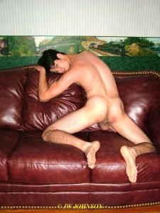 ass boi on couch