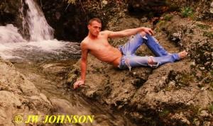 206B Waterfall Holie Jeans