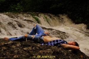 100 Waterfall Art