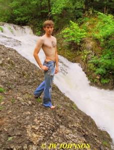 68 Waterfall Nude