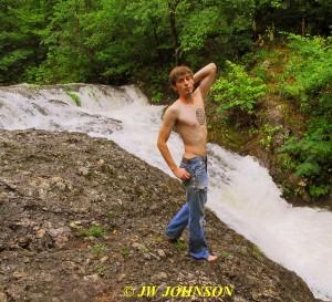 70 Waterfall Nude
