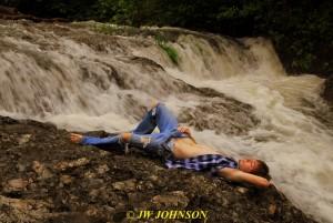 96 Waterfall Art