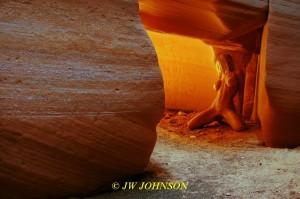 slot canyon babe