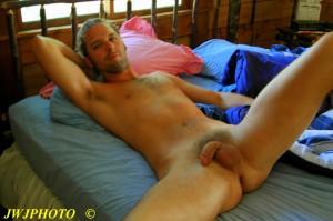 Bedboy resting