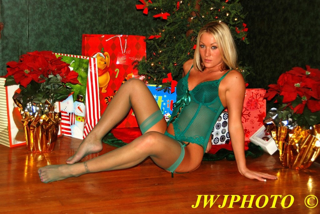 Christmas Babe under Tree