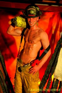 Firefighter Hunk Smiles