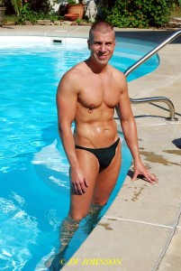 Green Speedos Hottie