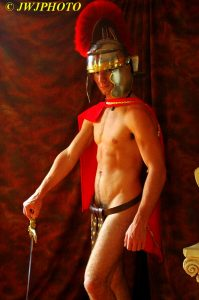 Hot Roman soldier