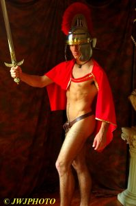 Hot Roman sword and sash