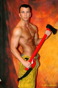 Hottie with axe 2